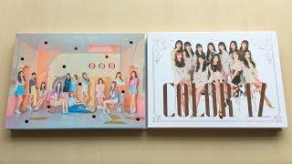 ♡Unboxing IZ*ONE 아이즈원 1st Mini Album COLOR*IZ (Color & Rose Ver.)♡
