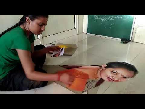 portrait rangoli tutorial by pramod arvi
