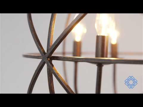 Video for Solaris English Bronze Six-Light Chandelier & Crystorama Lighting Group Solaris English Bronze Six Light ... azcodes.com