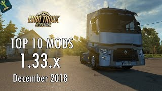 Download TOP 10 MODS (December 2018) - 1 33 x - Euro Truck Simulator