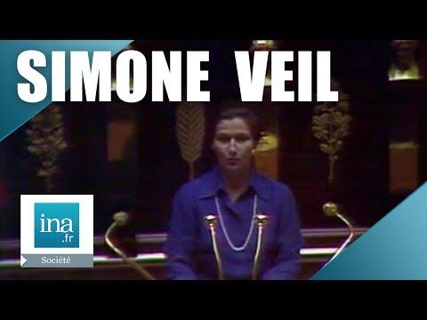 Vidéo de Simone Veil