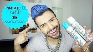 ¡Pinta tu cabello de azul SIN maltratarlo!/Color temporal