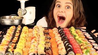 บดซูชิ 150 ชิ้น !! แล้วก็กิน