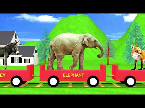 The Animal Train | HD Animation letöltés