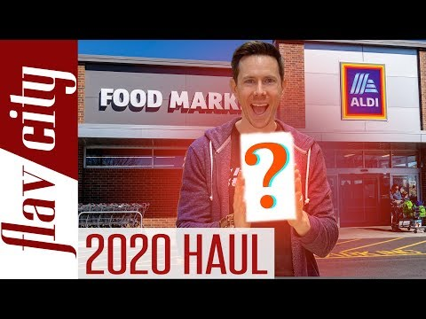 Top 20 HEALTHIEST Things To Buy At ALDI In 2020 - Budget Grocery Haul