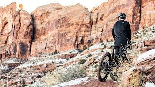 Braydon Bringhurst lets rip on the new Canyon Spectral in Utah
