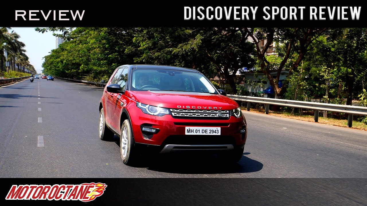 Motoroctane Youtube Video - Land Rover Discovery Sport | Hindi Review | MotorOctane