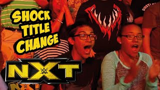 HUGE WWE Title Change At NXT Tapings