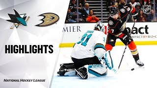 San Jose Sharks vs Anaheim Ducks | Nov.14, 2019 | Game Highlights | NHL 2019/20 | Обзор матча