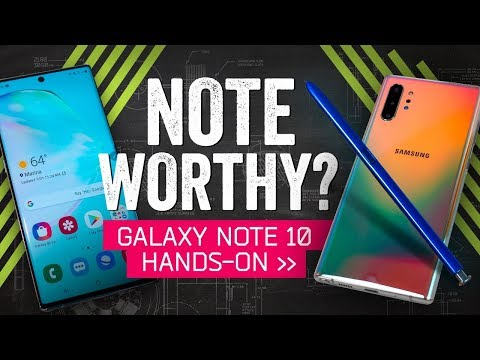 Galaxy Note 10 Hands-On: Samsung's Superphone Gets A Magic Wand