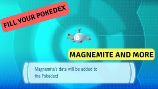 Fill your pokedex Episode 1 Pokemon Lets Go: Magnemite, Voltorb, Grimer and Electabuzz