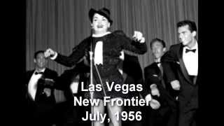 Judy Garland in Vegas 1956 - Lucky Day Recreation (excerpt)