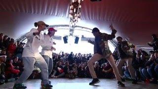 Juste Debout Paris 2016   Hip Hop   Kyoka & Maika Vs Regi & Deyvron   Top 32