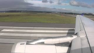 Seattle (SEA) - San Francisco (SFO) United Airlines #698 Takeoff
