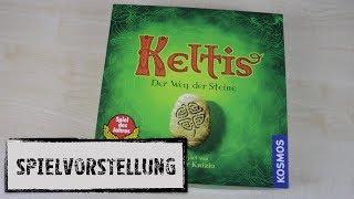 #Spielvorstellung - Keltis Brettspiel (Kosmos 2008)