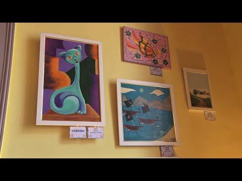 Exposição beneficente reúne obras de artistas friburguenses