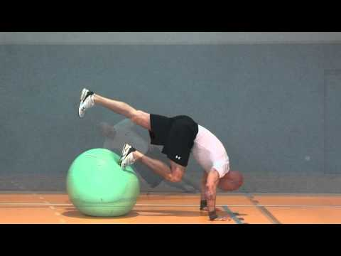 core and strength with stability ball