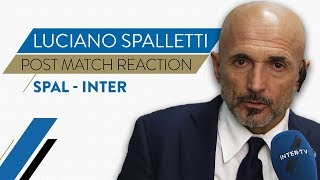 SPAL-INTER 1-2   Luciano Spalletti interview   Post-match reaction
