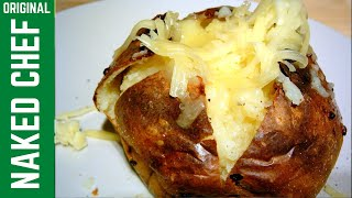 how to cook jacket potatoes in the oven without foil