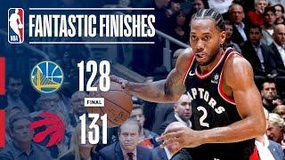 The Golden State Warriors And Toronto Raptors OVERTIME Thriller   November 29, 2018