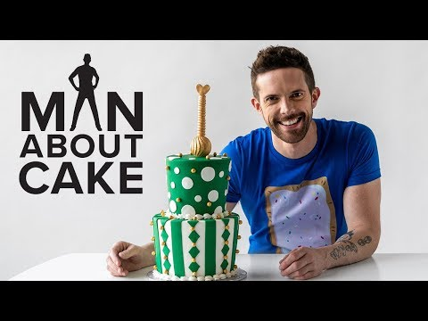 Mad Hatter Baby Shower Cake 🎩 | Man About Cake with Joshua John Russell