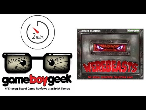 The Game Boy Geek's Allegro (2-min) Review of Werebeasts