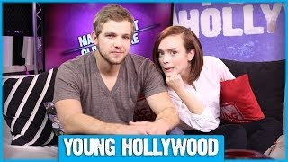 Olivia Cooke et Max Thieriot - Young Hollywood