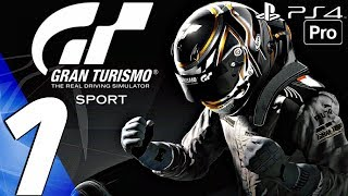 Gran Turismo Sport - Gameplay Walkthrough Part 1 - GT League (Career Mode) PS4 PRO