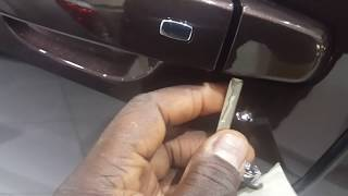 How to unlock 2016-19 Chevy / GM Passive Entry Doors