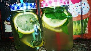 Напиток из Мяты и Лимона БЕЗ САХАРА