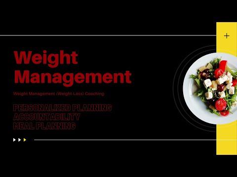 Weight Management (Weight-Loss) Coaching Program   Overview ...