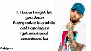 Chris Brown   Back To Love (official Lyrics Video)