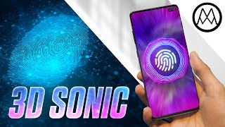 Samsung S10's 3D Sonic Sensor IS GAME CHANGING.