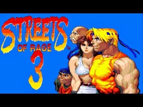 sega megadrive streets of rage 3