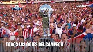 Todos los goles de Chivas del Campeonato C2017. Narración de Chivas TV. La Nación Chiva