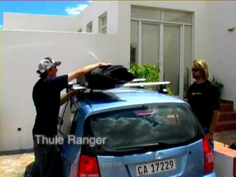 Thule Ranger 90 összehajtható tetőbox