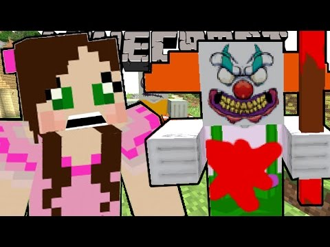 Minecraft: MO' ZOMBIES!! (CLOWNS, GIRLS, EXPLOSIVE, & MORE!) Mod Showcase