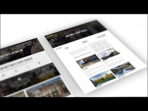 Web Design Liverpool | New Website Pages For Client Avenue HQ