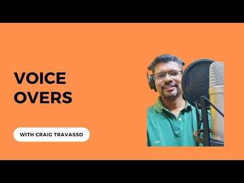 Craig Travasso voice over artist, Mumbai | talentrack