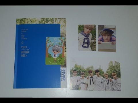Unboxing | Astro 2nd Mini Album - Summer Vibe - смотреть