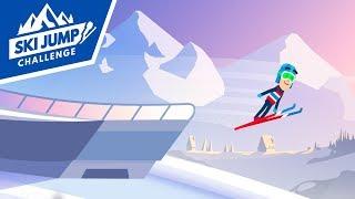 Ski Jump Challenge (Skoki Narciarskie) Android Gameplay (PL)