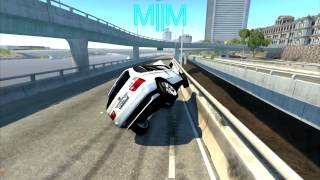 BeamNG some Rollover Crash Test M||M