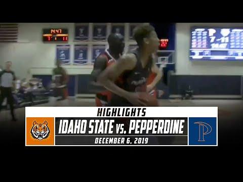 Idaho State vs. Pepperdine Basketball Highlights (2019-20) | Stadium