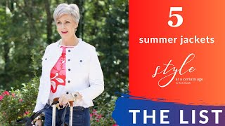 5 Summer Jackets | This List