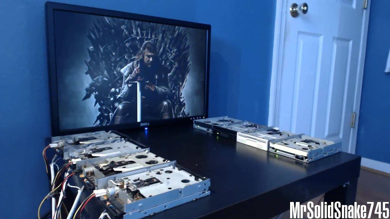 Behold, The Game Of Thrones Theme Performed By Floppy Disk Drives