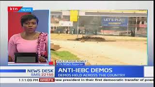 Updates on NASA Anti-IEBC demos in Kisumu