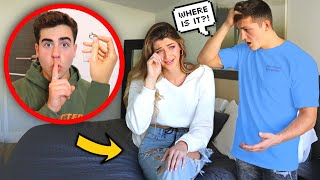 I Took His FIANCE'S RING Without Them Noticing.. *EMOTIONAL* (Ft. Jatie Vlogs)