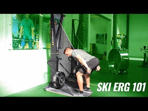 Ski Erg 101 | CrossFit Invictus | Engine