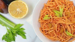 3 EASY One Pot Pasta Recipes! Cheesy Chicken & Broccoli Pasta, Bloody Mary Pasta and Beef Stroganoff