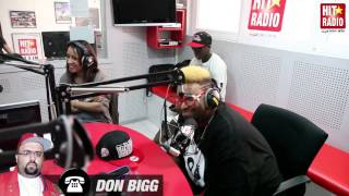 BIG ALI AU TELEPHONE AVEC DON BIGG SUR HIT RADIO